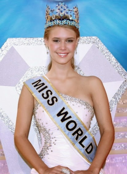 Alexandria Mills - Miss World 2010