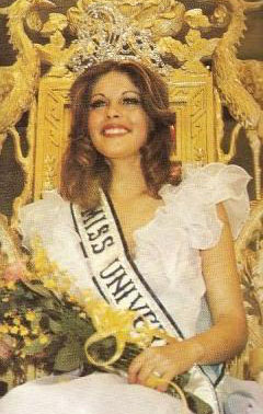 Rina Messinger - Miss Univers 1976